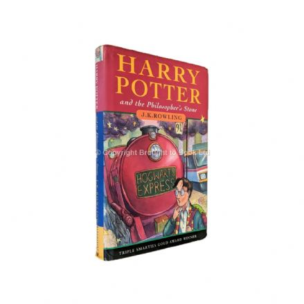 Harry Potter and the Philosopher's Stone Signed by J.K. Rowling Reprint Bloomsbury 2000